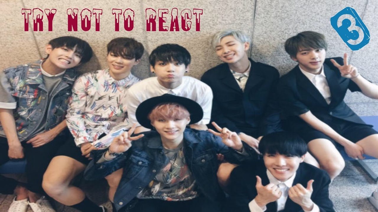 BTS - Try Not to React (Pt. 3) {Hard}