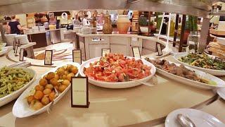 ВЛОГ ОАЭ 🇦🇪 Шведский стол Hilton 5* 22.11.2017
