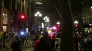 Seattle Super Bowl Riot Pioneer Square - HQ