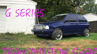 Ford Festiva: My G Series Swap Exprience