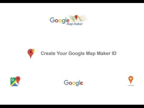How To Create a Google Map Maker ID