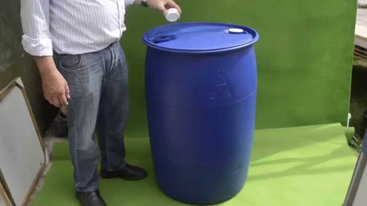 Tanque de plastico azul de 200 litros youtube for Tanque hidroneumatico 100 litros