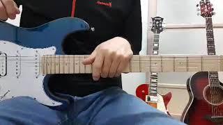 기타 멜로디연주,전주간주 연주할때 코드스트럼,리듬주법 함께하는 방법레슨,스케일3패턴을 응용함.