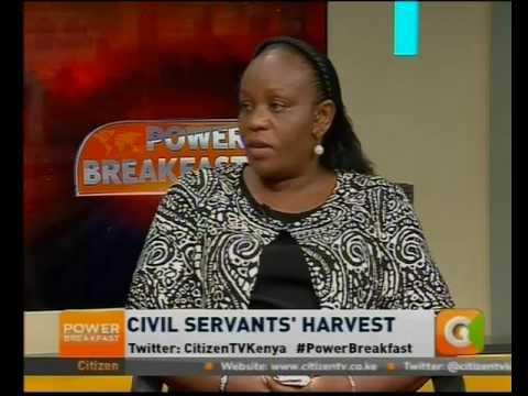 Power Breakfast News Review: Civil servants harvest