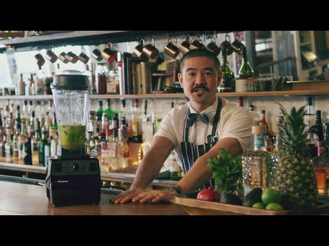Bartender Masa Urushido at Saxon+Parole I Altos Guacamole