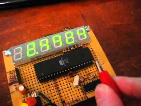 Homebrew Frequency Counter For Amateur Radio Using A