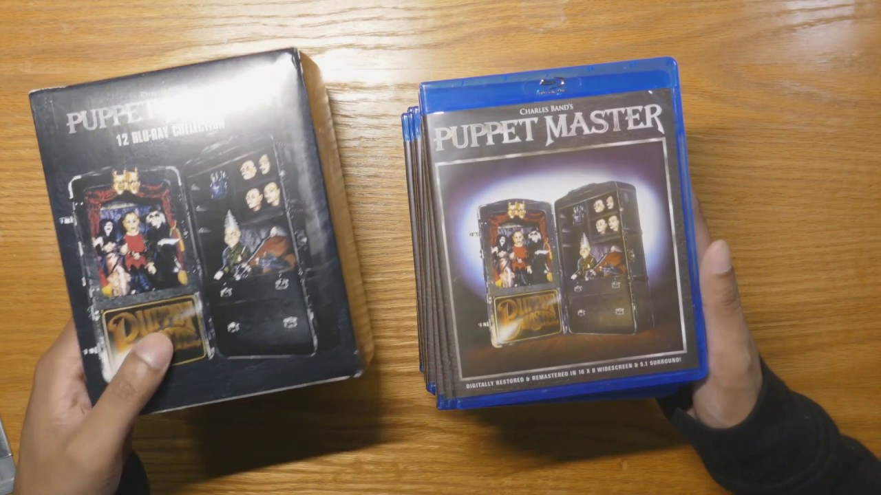 Download Puppet Master 12 Disc Blu-ray Collection Unbox