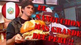 LA HAMBURGUESA MAS GRANDE DEL PERU! - Kevo