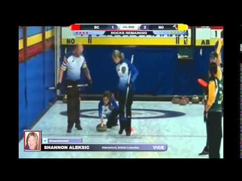 2016 Canadian Mixed Curling Championship: British Columbia vs Northern Ontario