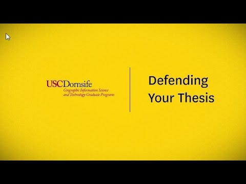 usc gist thesis Founded by dr john p wilson in 2010, the usc spatial sciences institute  in  the ms in gist degree program, students tailor their coursework and thesis.
