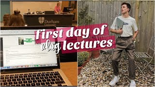 uni vlog: my first day of lectures + world mental health day