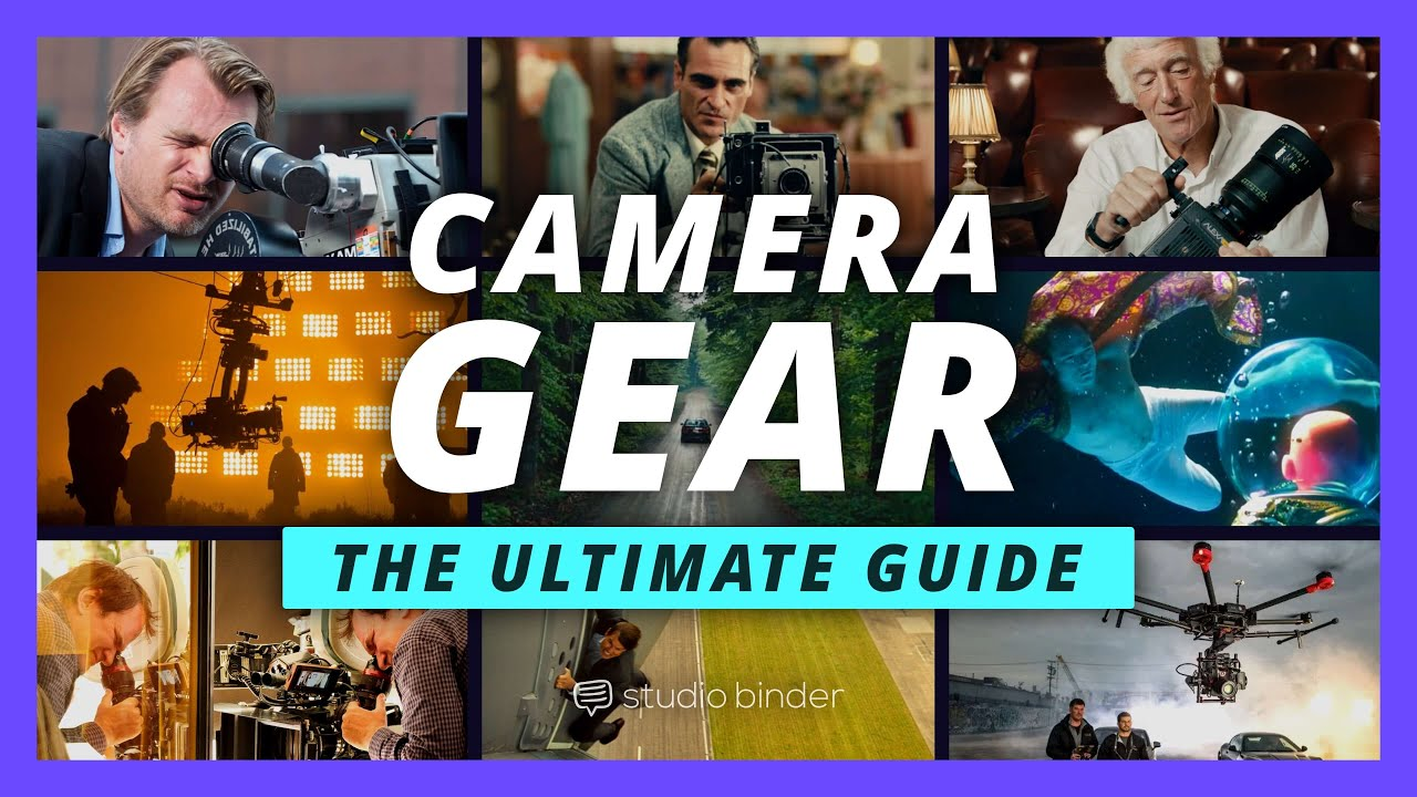 Camera Gear: Every Type of Camera Rig Explained [The Shot List, Ep 5]