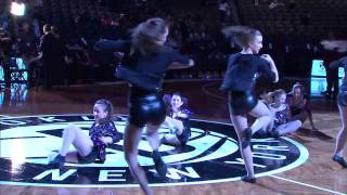 Dance Factory Elite Performance Company at the Brooklyn Nets