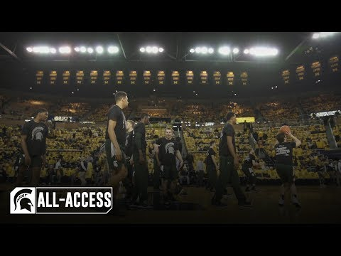 Michigan State Men's Basketball vs Michigan | Spartans All-Access | February 24, 2019