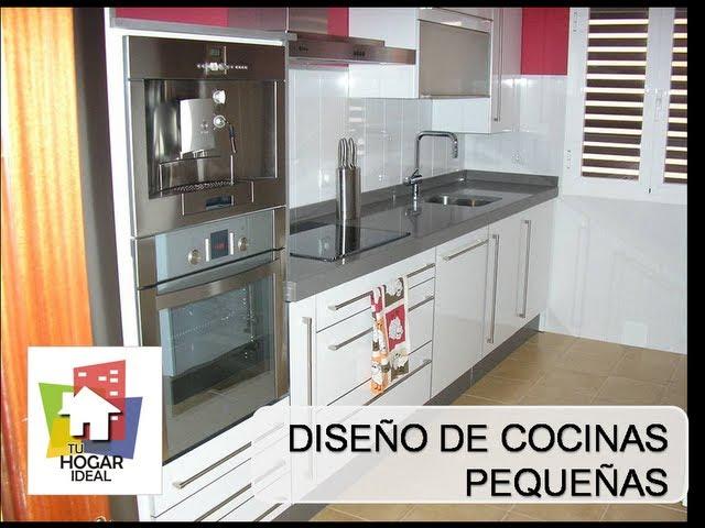 cocinas modernas pequeas para