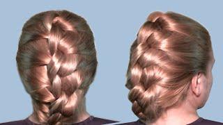 Прически Быстро Видео Урок Онлайн| Плетение волос узлами| Hairstyles Quick Video Tutorial|(Как сделать быструю прическу? Почти каждая женщина задает себе такой вопрос, поскольку всегда надо хорошо..., 2012-12-24T19:09:34.000Z)