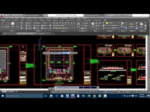 How Can Take Coordinate in Autocad For Buillding Layout And Stakeout