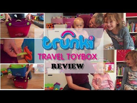 Trunki Travel Toybox Review
