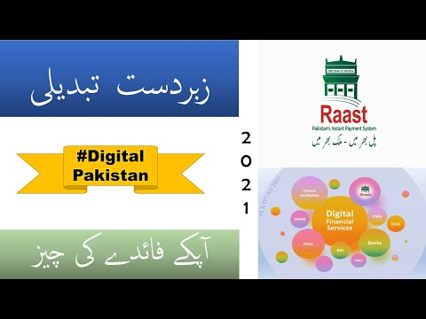 Raast Instant Digital Payment. What is Raast Pakistan Digital Payment. Instant #DigitalPakistan News
