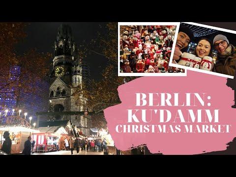 BERLIN CHRISTMAS MARKETS: Kurfürstendamm (Breitscheidplatz) | Weihnachtsmarkt | VLOGMAS 2019