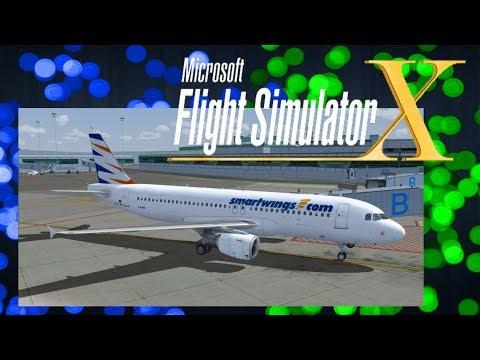 FSX   Praha - Korfu   QS 1114   Airbus A320 Smart Wings