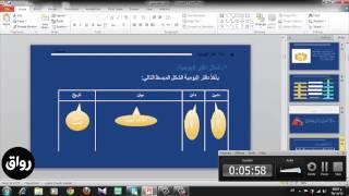 رواق : رواق : مبادئ المحاسبة - المحاضرة 3 - الجزء 1
