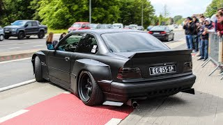 Lowered cars leaving a CarShow | Lay Low 2019
