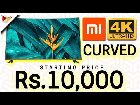 Xiaomi Launches 4 New SMART TV's Starting Price Rs.10000 | Data Dock