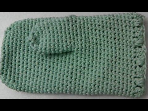 Oven Mitt Glove Lefty Crochet Tutorial Youtube