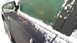 Cold start Fiat Bravo 1.4 T-jet 120 KM // -18°C // 07.01.2017