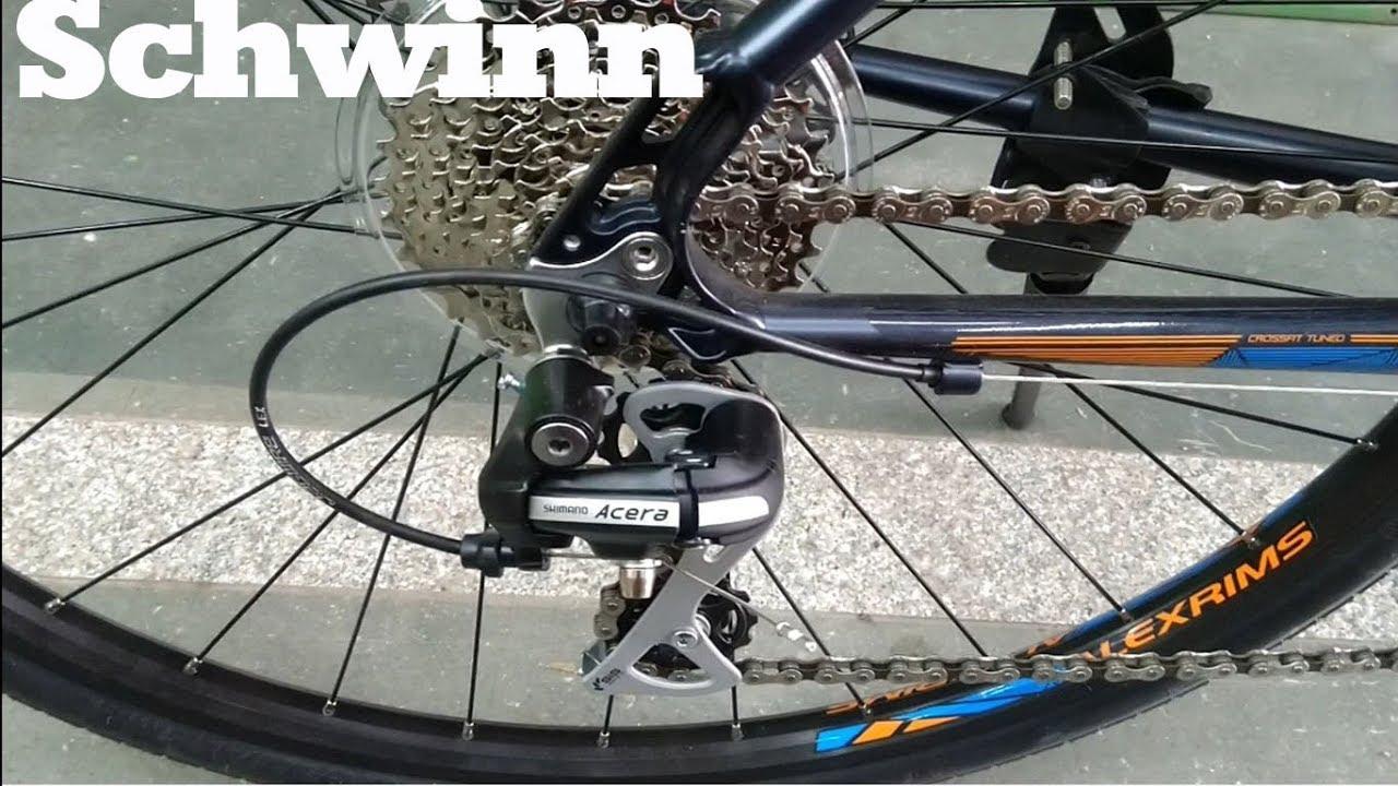 ef979dae7ac TricksWorks| SCHWINN SUPER SPORT 2 DISC | Hybrid Bike - YouTube
