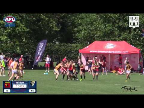 2016 AFL London Women's Division Grand Final - North London Lions v Wimbledon Hawks
