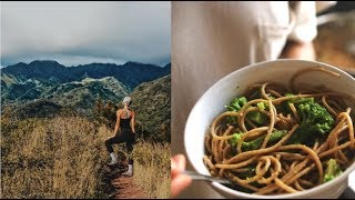 ✨EVERYTHING I EAT to stay lean and energetic living in hawaii / garlic parm pasta recipe!