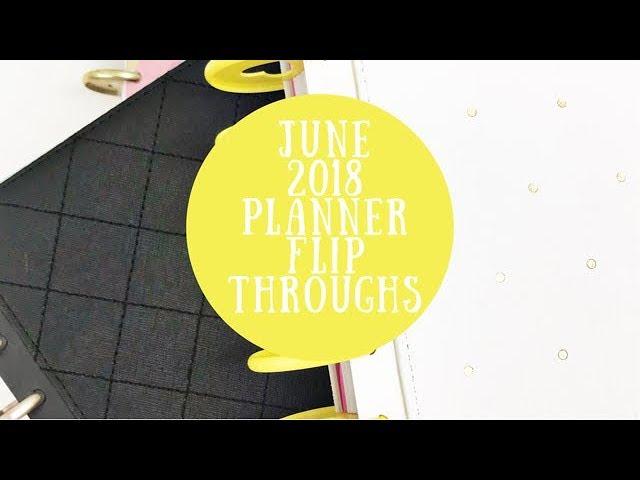 june-2018-planner-flipthrough