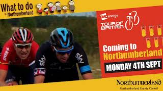 Tour of Britain cycle race comes to Northumberland on Mon 4 Sept