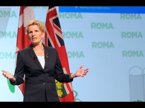 2018 ROMA Conference, The Honourable Kathleen Wynne, Premier of Ontario