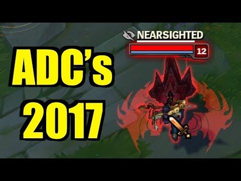 ADC's 2017!! ONESHOTS + UNBELIEVABLE DELETES!! [ League of Legends ]