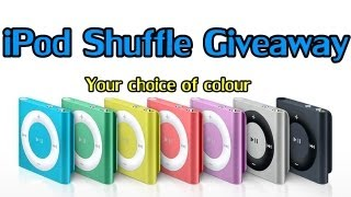 iPod Shuffle Giveaway || Your choice of colour [Closed]