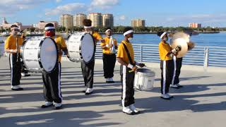 Lakewood High Drumline Cadence with Auxiliary
