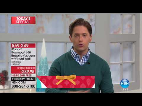 HSN | Gifts For The Home featuring iRobot 11.14.2017 - 09 PM