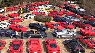 フェラーリ歴代180台が集結 1970年代から新型まで50モデル