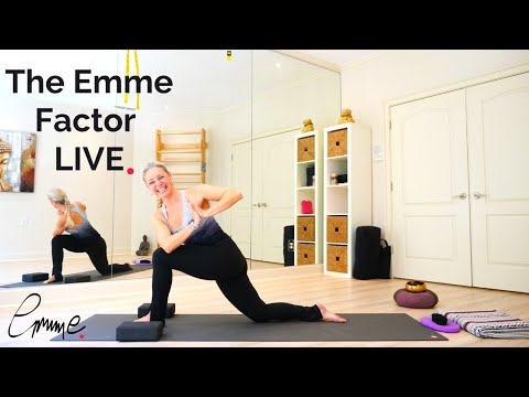 Find your strength in challenging days| Emme's live yoga class 4/5/20