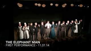 First Bows at THE ELEPHANT MAN on Broadway