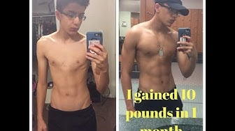 My body transformation story- From 105 pounds to 140 pounds