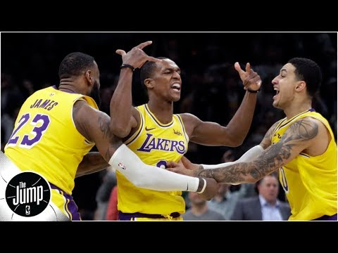 Did Rajon Rondo's behavior in practice spark Lakers' win vs. Celtics? | The Jump