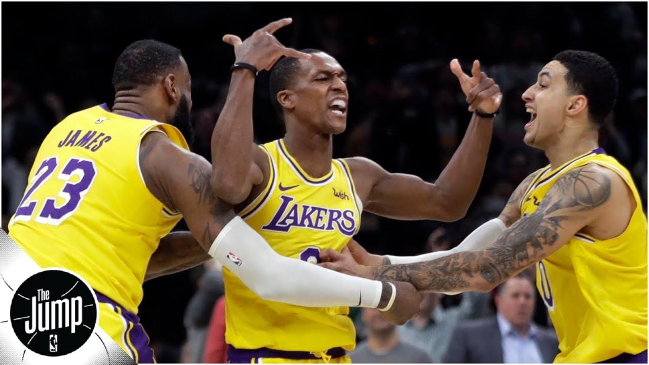 Did Rajon Rondo's behavior in practice spark Lakers' win vs. Celtics? | The Jump