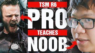 RAINBOW SIX SIEGE PŔO TEACHES NOOB HOW TO PLAY R6! | TSM ACHIEVED • R6S