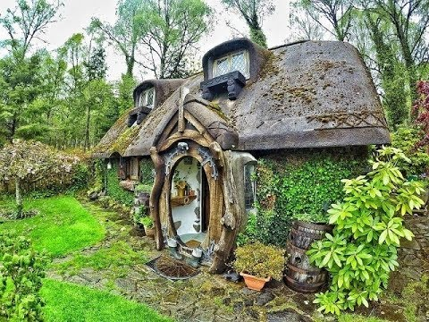 There's A Real-Life Hobbit House Built In Tomich, Scotland.