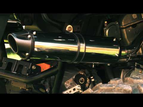 2013 Polaris RZR XP 900 Custom MBRP Exhaust (Part 4)