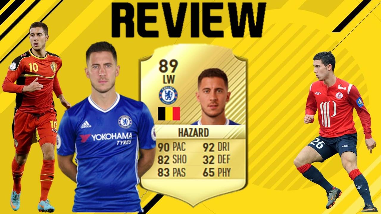 Hazard Fifa 17